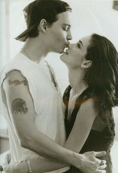 Johnny + Winona  1993