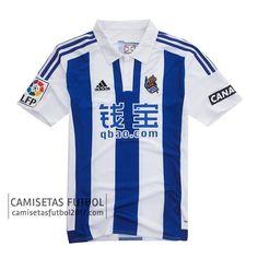 Nueva Venta de Primera camiseta de tailandia Real Sociedad 2015 2016 | camisetas de futbol baratas