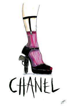 Chanel Illustration