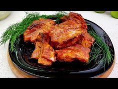 Tieto rebierka ste neochutnali? Potom ste nejedli najchutnejšie rebierka #129 - YouTube Spareribs, Tandoori Chicken, Tasty, Meat, Ethnic Recipes, Youtube, Ribs, Pork, Roast