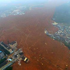 ATHENA IMAGE: Debris from the devastating Shenzhen landslide.