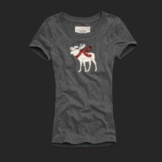 Abercrombie and Fitch Womens Graphic Tees 044