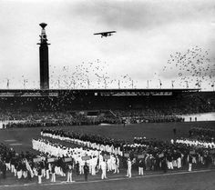 1928 Summer Olympic Opening Ceremony - Amsterdam