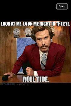 Will Ferrell/Alabama football