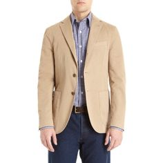 how to wear a sport coat with khakis