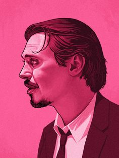 Mr Pink (Steve Buscemi) from Reservoir Dogs by Mike Mitchell