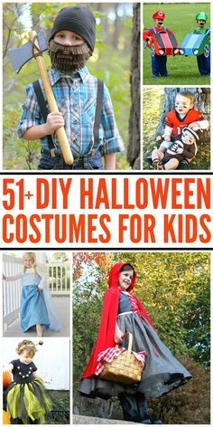 Diy costumes for kids so many adorable halloween costumes that you 51 diy halloween costumes for kids solutioingenieria Images