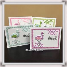 """""""You Are Fabulous""""...cards created using Close To My Heart"""