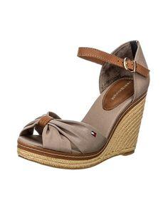 4c987092e57fa Tommy Hilfiger Lelah Flat Thong Sandals. Mikayla Bishop · Tommy h · Tommy  Hilfiger  lt 3 Beige Wedges