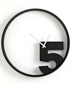 Umbra Clock, Take 5 Wall  Clocks