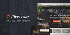 Download and review of Mocaccino - WordPress Theme For Restaurants, one of the best Themeforest Entertainment themes