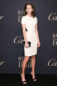 See all the best dressed attendees from last night's BAZAAR Women Who Dare party: Christy Turlington Burns