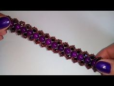 beaded jewelry ideas for beginners Diy Earrings Dangle, Diy Earrings Easy, Beaded Necklace Patterns, Beaded Bracelets, Beaded Wedding Jewelry, Amber Bracelet, Bead Jewellery, Bracelet Tutorial, Violet