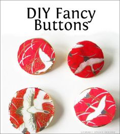 DIY Fancy Buttons