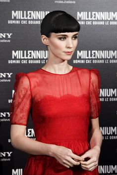 Rooney Mara - The Italian Premiere of 'Girl with the Dragon Tattoo'