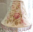 Another pretty lamp shade for #shabby chic rooms or English cottage decor with your favourite #lamp