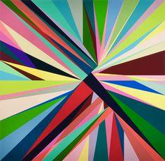 geometric abstract : Odili Donald Odita