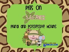 These activities will help your young learners understand the difference between plural and possessive nouns. There is a sorting activity, noun cards to use to form possessives and plurals, 2 posters and a worksheet for reinforcement. Singular And Plural Nouns, Nouns And Pronouns, Possessive Nouns, 1st Grade Activities, Sorting Activities, Grade 2, Second Grade, Noun Games, Upper And Lowercase Letters