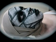 ▶ ♡ MUMMIFIED HALLOWEEN MAKEUP TUTORIAL ♡ MUMMY MAKEUP ♡ - YouTube