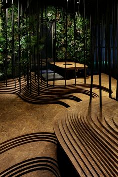 Einzigartige Restaurant Umgebung mit Indoor-Wald und -Höhle in Tokio sorgt für ein besonderes Erlebnis #sendai #genussmagazin #genussakademie #japan #hannover #transatlantikpassagen