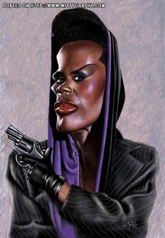 Grace Jones as May Day for A View to a Kill