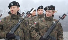 DMP-F013 FEMALE POLISH SOLDIERS | Flickr - Photo Sharing!