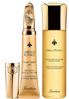 Guerlain Abeille Royale Honey Smile Lift Lip & Contour Sculpting Treatment – New & Guerlain Abeille Royale Honey Nectar Treatment Lotion – New Spring 2016