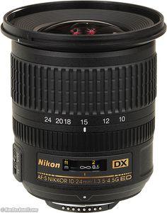 Nikon 10-24mm ultrawide lens