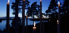 lights, design, home decor, candles, Villa, We Fall In Love, Minimal Design, Shades Of Blue, Candlesticks, Furniture Design, Outdoor, Lights, Table Decorations