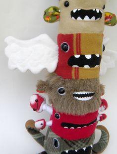 Sneak Peek - Monster Totem Pole number three by OopisNein.deviantart.com
