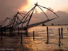 Chinese Fishing Nets - Kochi, Kerala, India (2013)