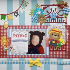 Teddy+Bear+Picnic - Scrapbook.com