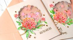 Tulle Shaker Cards - YouTube