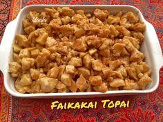 Faikakai Topai (Tongan dessert) Dumpling with sweet coconut caramel sauce Island Food, Island Life, Tongan Food, Polynesian Food, Xmas Dinner, Marshall Islands, World Recipes, International Recipes, Going Vegan
