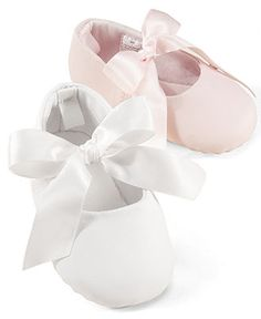 First Impressions Baby Girl Ballerina Slippers - Kids Girls Shoes - Macy's