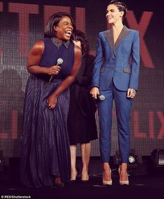 Orange is the New Black - Uzo Aduba and Ruby Rose