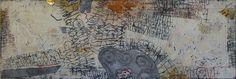 Mon Coeur - Gemengde techniek op linnen - 160 x 60 cm - 2011