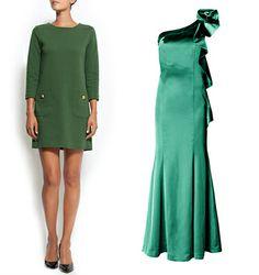 Vestidos verdes mango