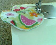 Handmade With Love: Cloth G-tube pad