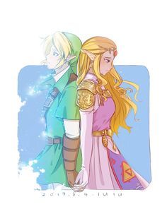 Ocarina of Time // Link and Princess Zelda The Legend Of Zelda, Legend Of Zelda Breath, Oot Link, Link Zelda, Twilight Princess, Breath Of The Wild, Link Fan Art, League Of Legends, My Little Pony