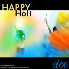 Hip Hip IICE - Wishing India a very Happy Holi !!  Let this week be filled with the Colours of Joy...