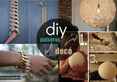 diy bracelets and ribbon