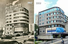 Edificio Pan-Am (1952-2010) Art Deco Buildings, My Town, Ny Times, Liverpool, Nostalgia, Multi Story Building, America, Retro, Architecture