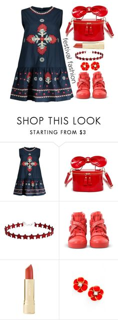 """""""Festival Fashion"""" by simona-altobelli ❤ liked on Polyvore featuring Moschino and Kate Spade"""