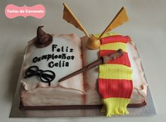 Tarta de Harry Potter. Multilingual Harry Potter cakes!