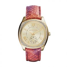 Ceas de dama Michael Kors Bryn MK2387 Michael Kors Watch, Chronograph, Omega Watch, Rolex Watches, Burberry, Orange, Shoe Bag, Crystals, Stuff To Buy