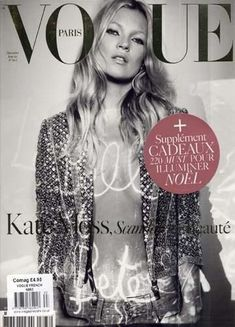 Kate Moss cover Vogue..
