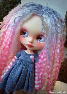 Custom Blythe  Odette  OOAK Blythe Doll 21 от SweetCrate на Etsy