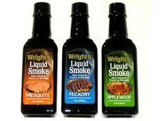 Liquid Smoke | Liquid smoke, Kitchen bouquet and Smoking