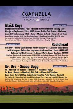 COACHELLA 2012!!